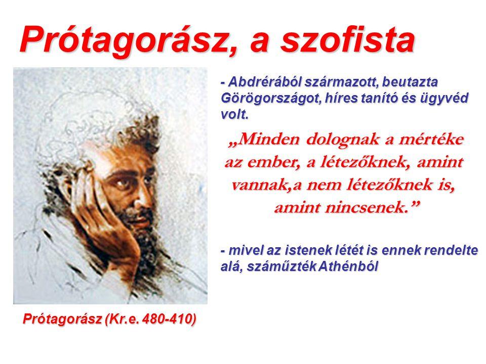 A sztoicizmus Az athéni sztoa = oszlopok - a kitioni Zénón alapította Kr.