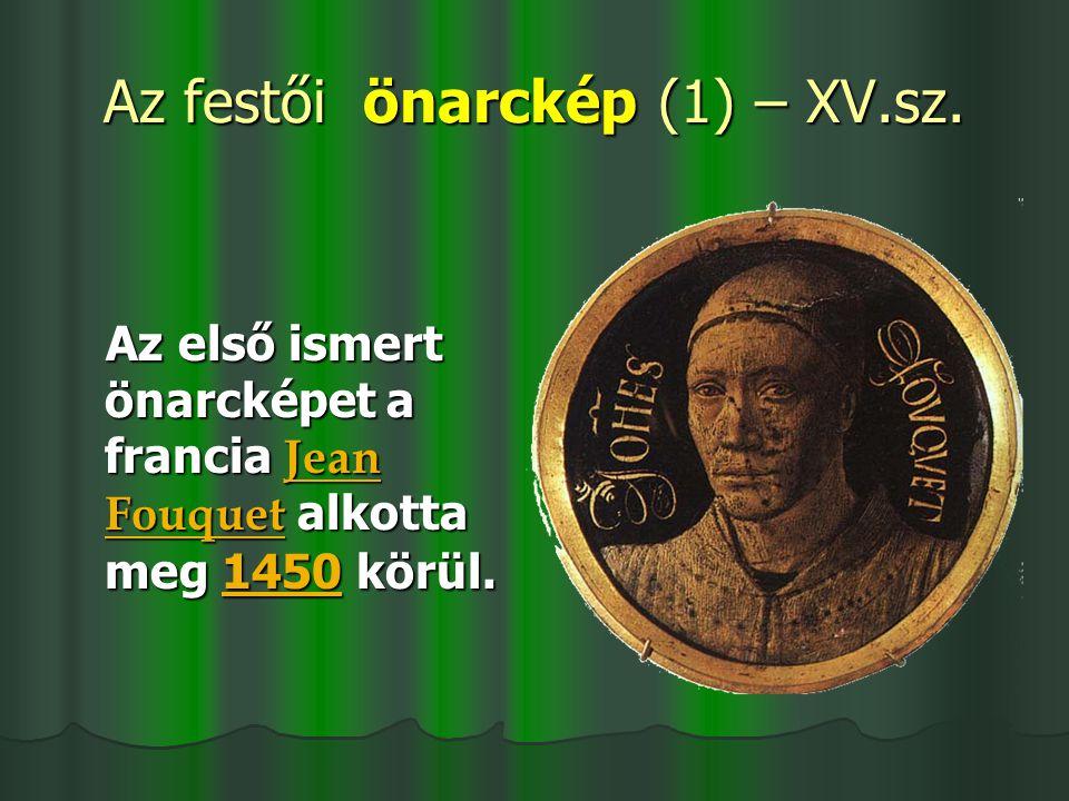 Magyar festők önarcképei Mányoki Ádám (1700) Székely Bertalan (1860)