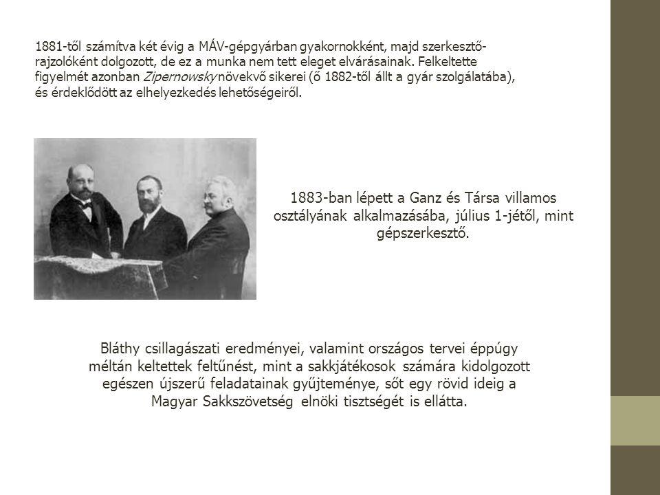 1891-ben Lipcsében jelent meg a sakkfeladványait tartalmazó Vielzügige Schachaufgaben című könyve.