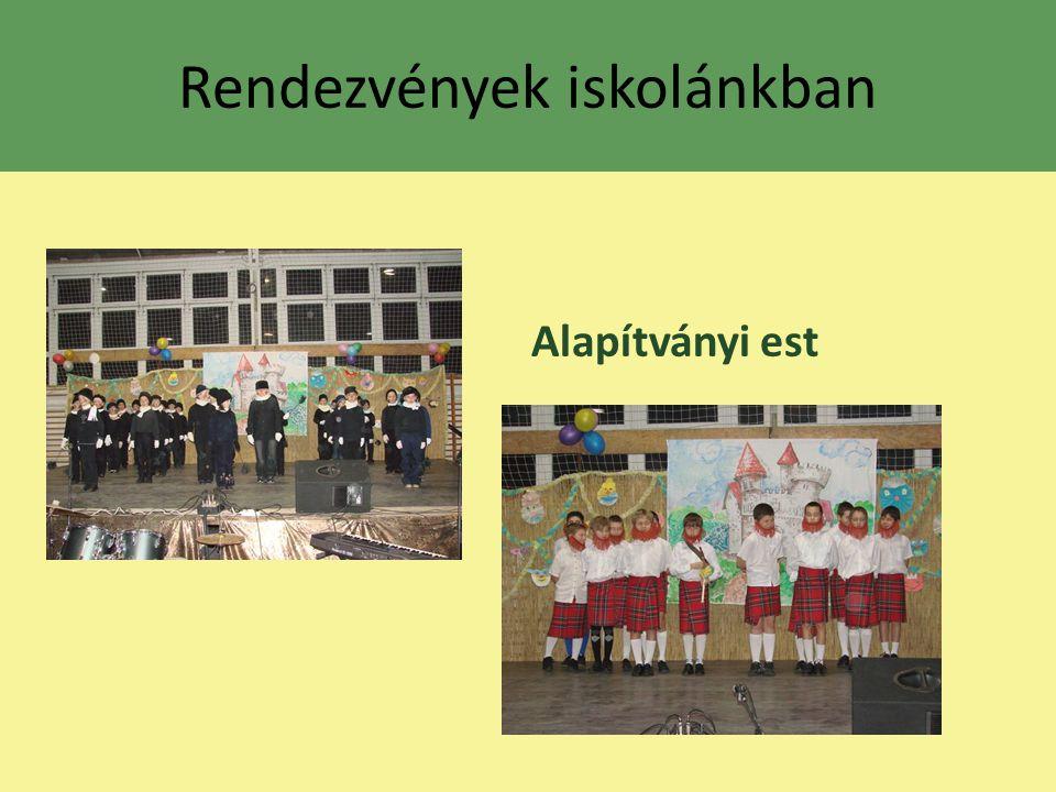 Rendezvények iskolánkban Alapítványi est