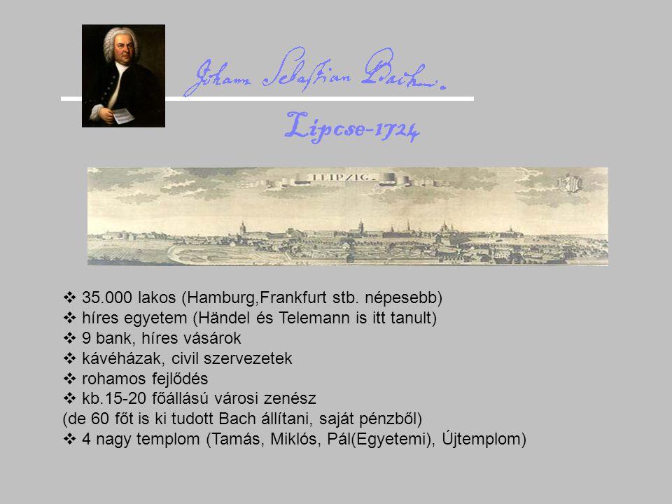 """Bach templomai Tamás-templom  2000-2200 fő  """"fecskefészek karzat Miklós-templom  2300 fő"""