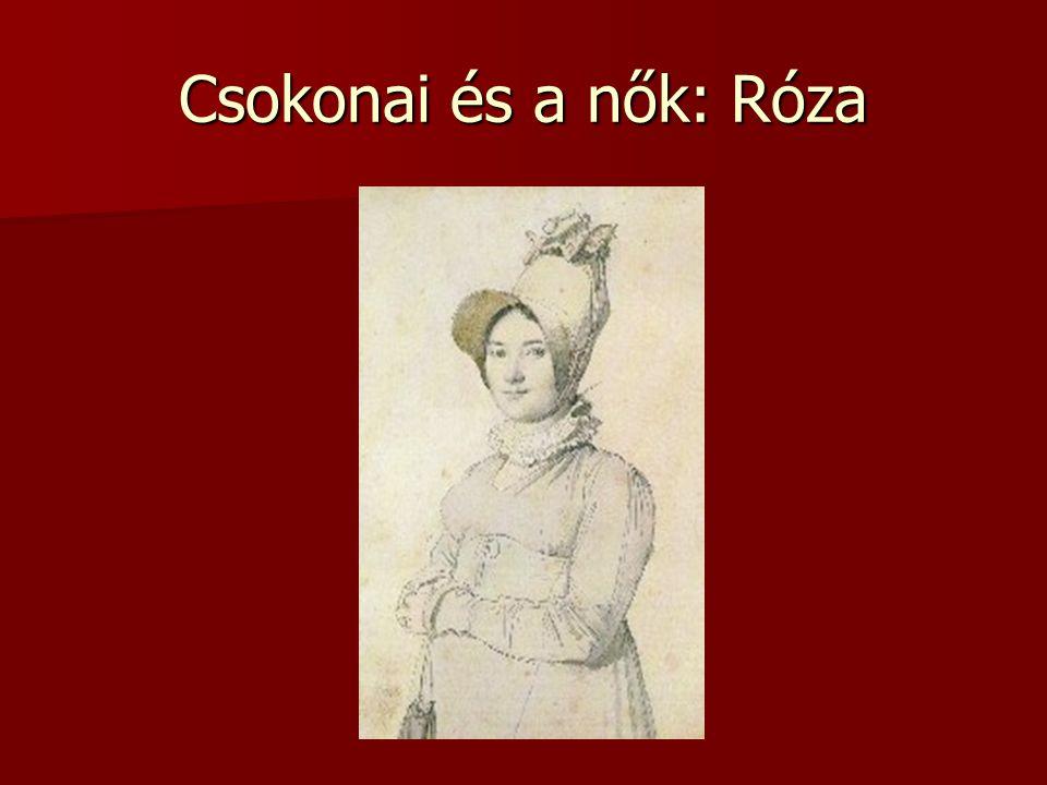 Csokonai és a nők: Róza
