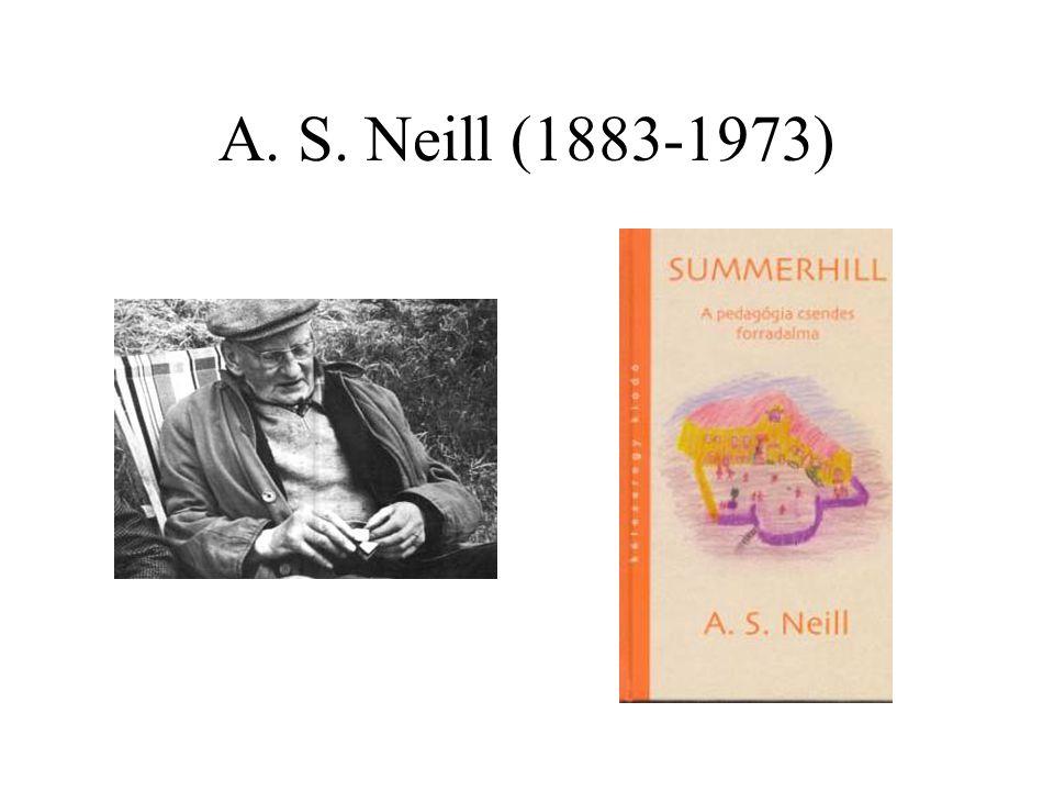 A. S. Neill (1883-1973)