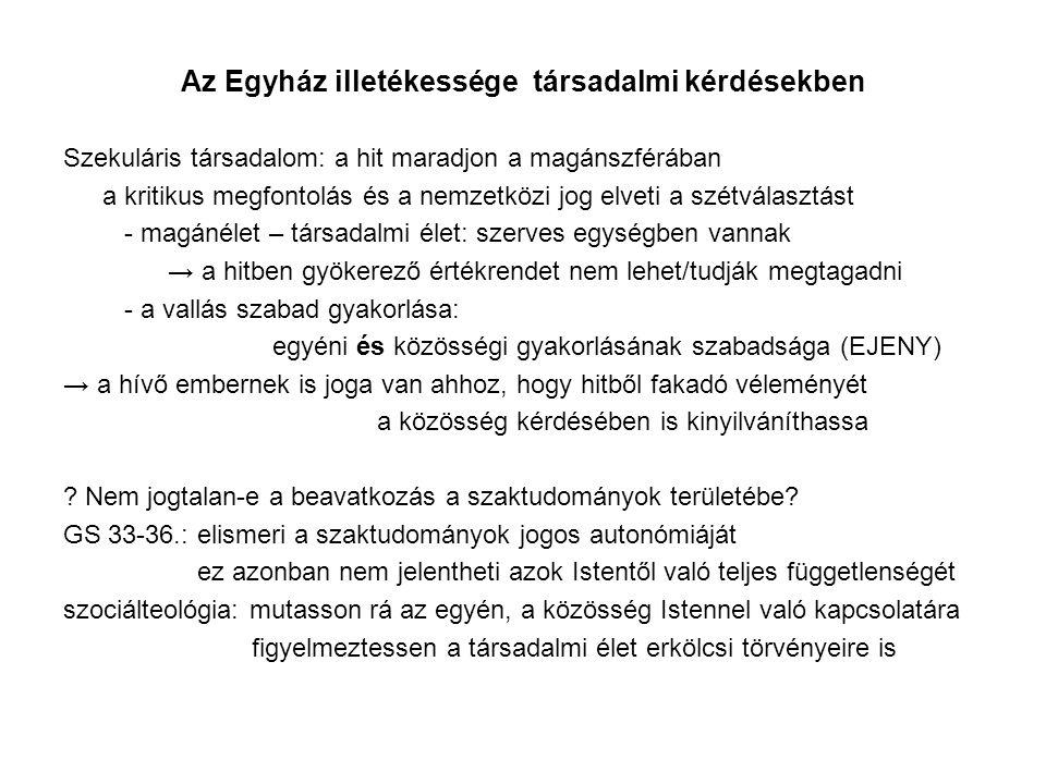 Az ETT szerepe a teológia oktatásában XI.