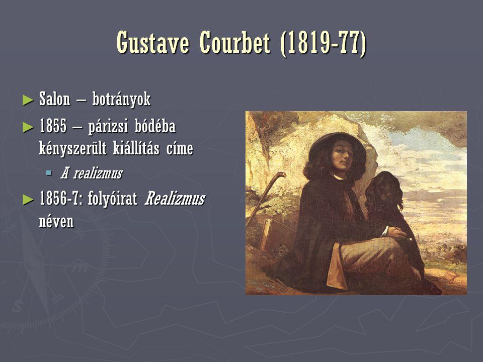 G. Courbet, Jó napot, Courbet úr!, 1854