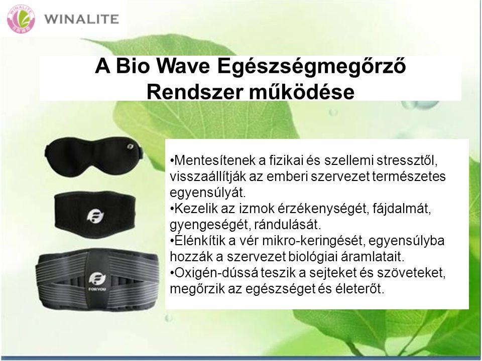 A Bio Wave Egészségmegőrző Rendszer működése Mentesítenek a fizikai és szellemi stressztől, visszaállítják az emberi szervezet természetes egyensúlyát.