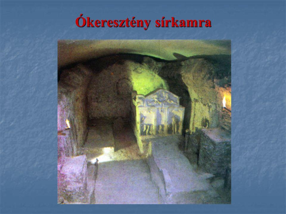 Szerzetesrendek A vallásos élet fő központjai a kolostoraik.