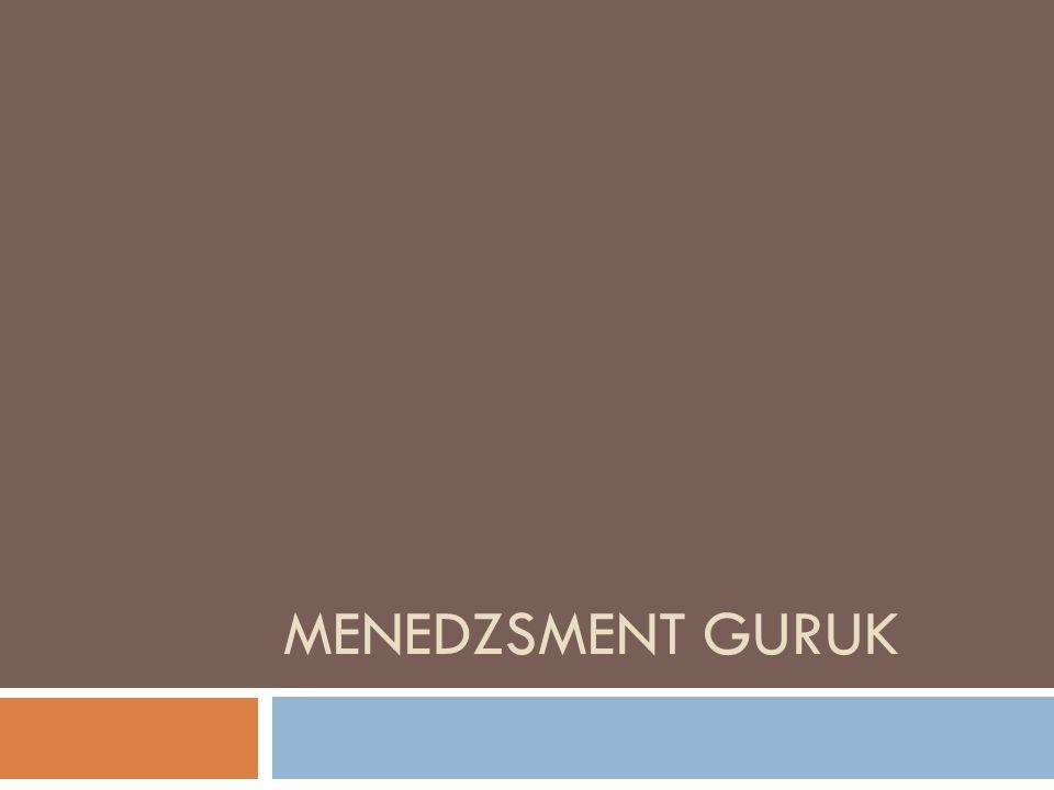 MENEDZSMENT GURUK