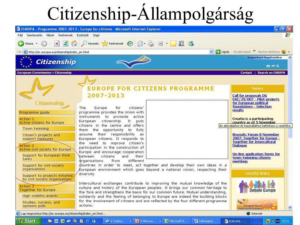Citizenship-Állampolgárság