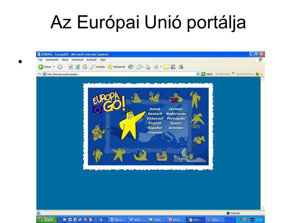 Az Európai Unió portálja