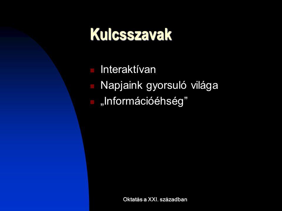 Oktatás a XXI. században Tanuljunk egymástól Wikipédia Network.hu
