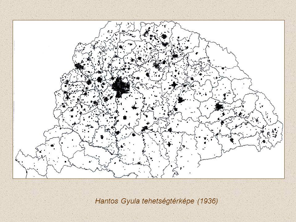 Hantos Gyula tehetségtérképe (1936)