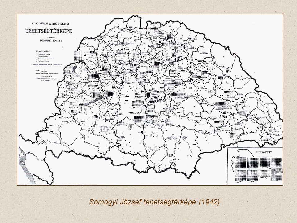 Somogyi József tehetségtérképe (1942)