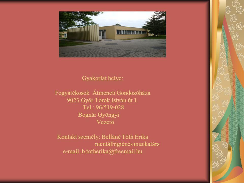 Átmeneti otthon Az otthon Győr Megyei Jogú Város közigazgatási területén, sérültséggel élő, szakápolást nem igénylő személyek gondozását, ápolását látja el.