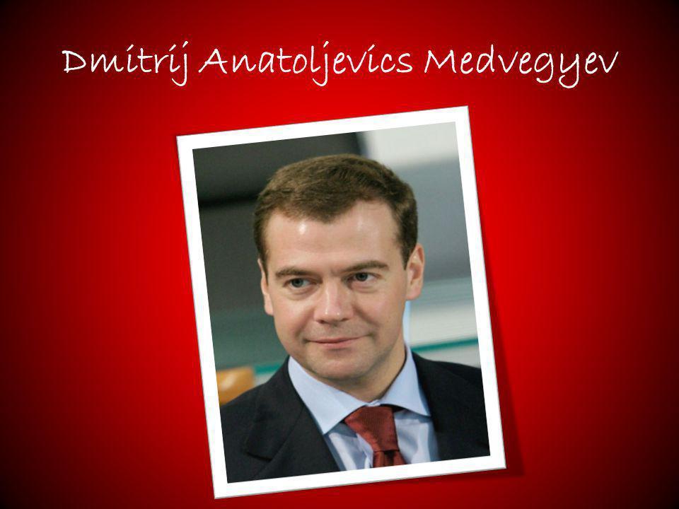 Dmitrij Anatoljevics Medvegyev