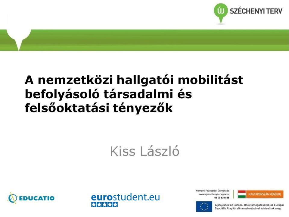 A nemzetközi hallgatói mobilitást befolyásoló társadalmi és felsőoktatási tényezők Kiss László