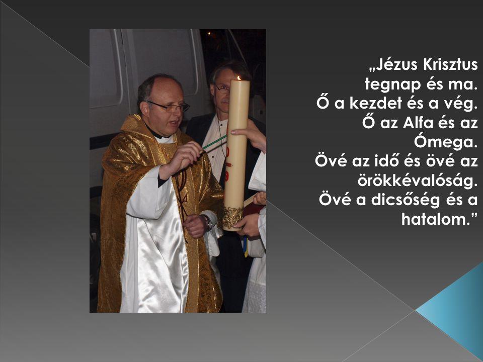 """""""Jézus Krisztus tegnap és ma. Ő a kezdet és a vég."""