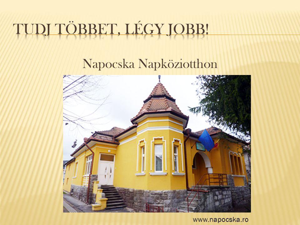 Napocska Napköziotthon www.napocska.ro