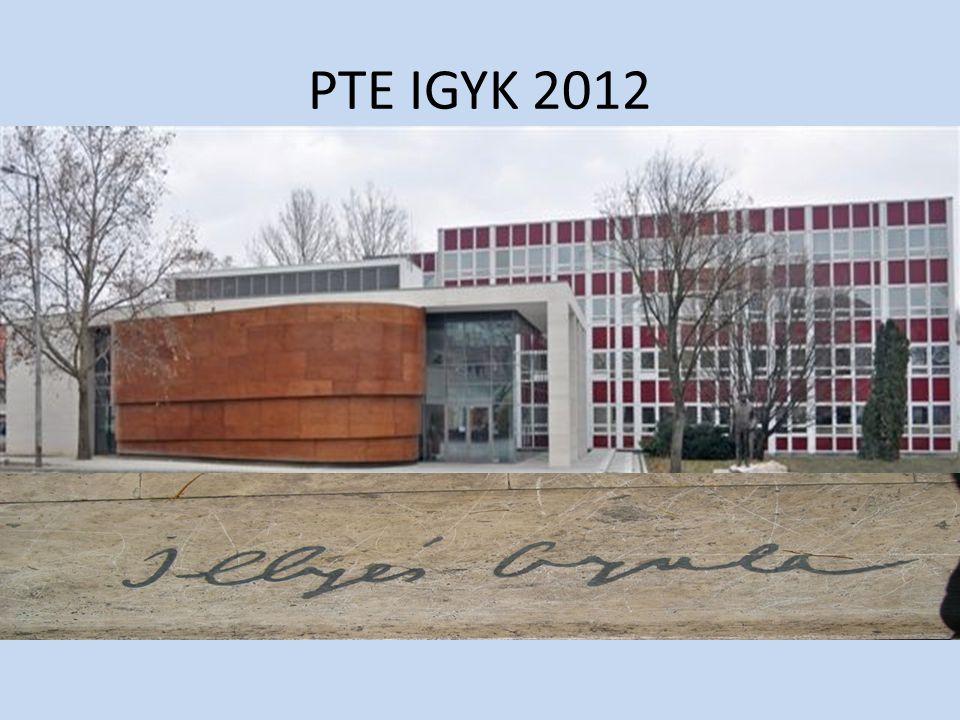 PTE IGYK 2012