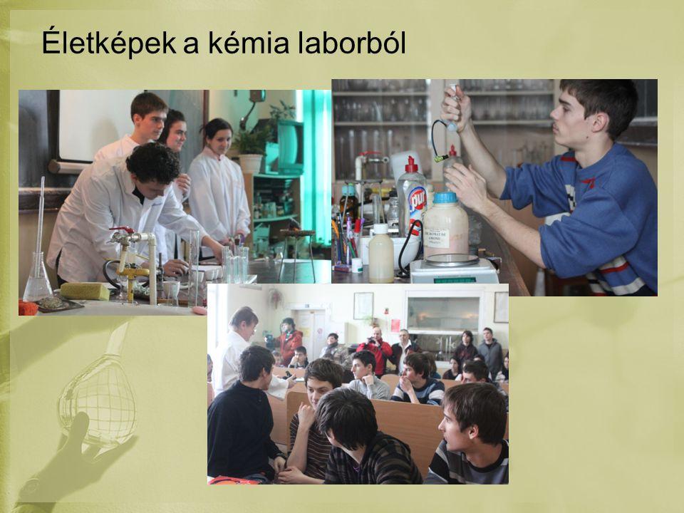 Életképek a kémia laborból