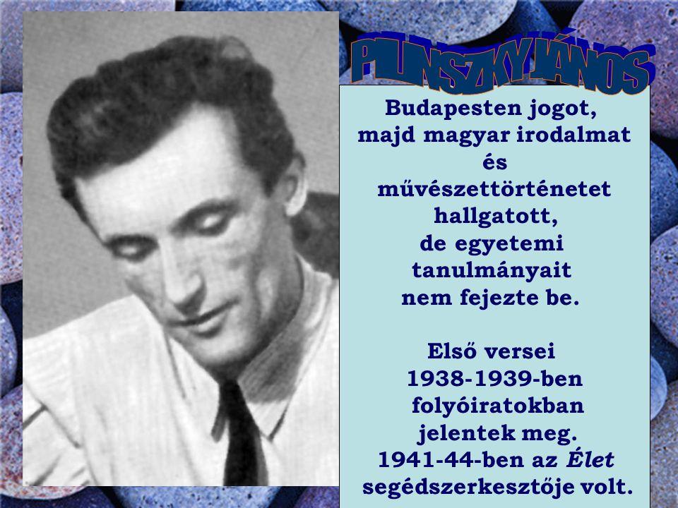 Budapesten jogot, majd magyar irodalmat és művészettörténetet hallgatott, de egyetemi tanulmányait nem fejezte be.