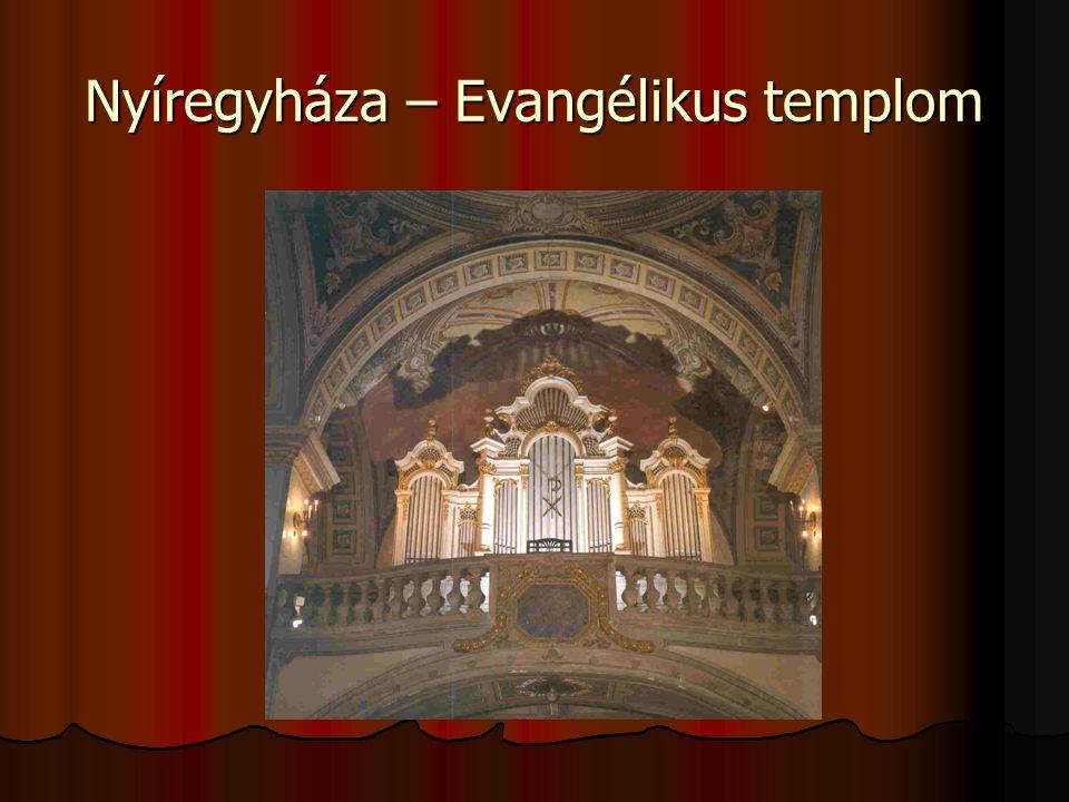 Nyíregyháza – Evangélikus templom