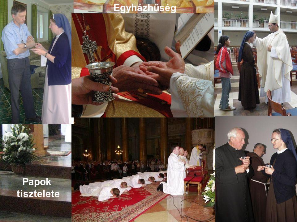 Az Eucharisztia és az Ige szeretete és tisztelete,