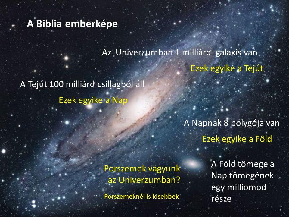 Materialista emberkép: Az ember is az állatvilág tagja az állatvilág csúcsa Az ember a létért folytatott küzdelem és a természetes szelekció eredménye Mit mond erről a Biblia.