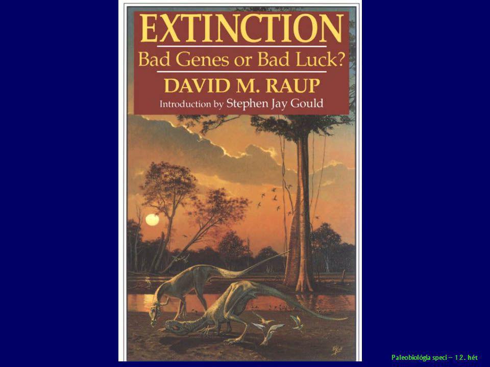Paleobiológia speci – 12. hét