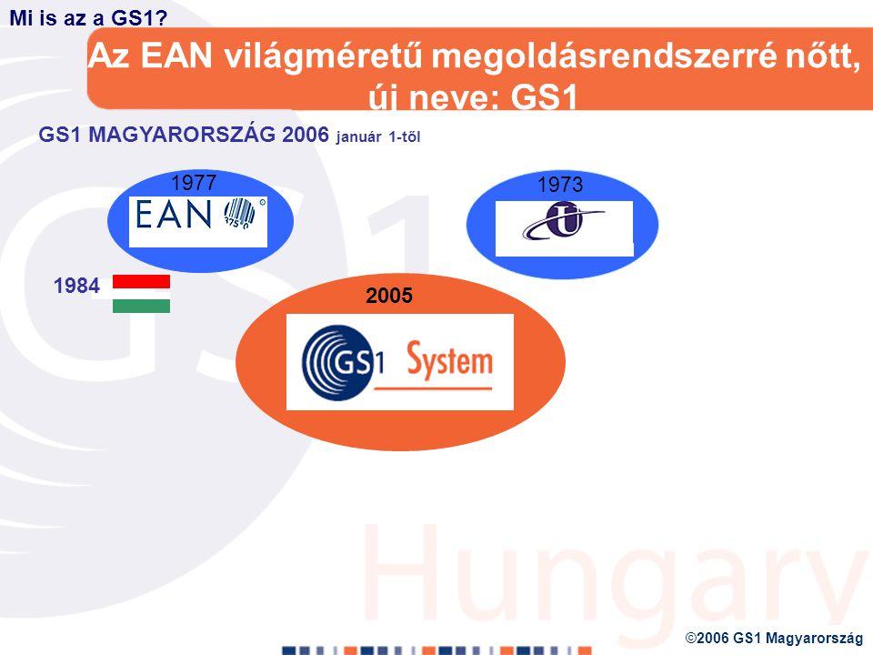 GLOBÁLIS SZABVÁNYOK szerepe a logisztikai folyamatokban Kecskés Katalin 2006.