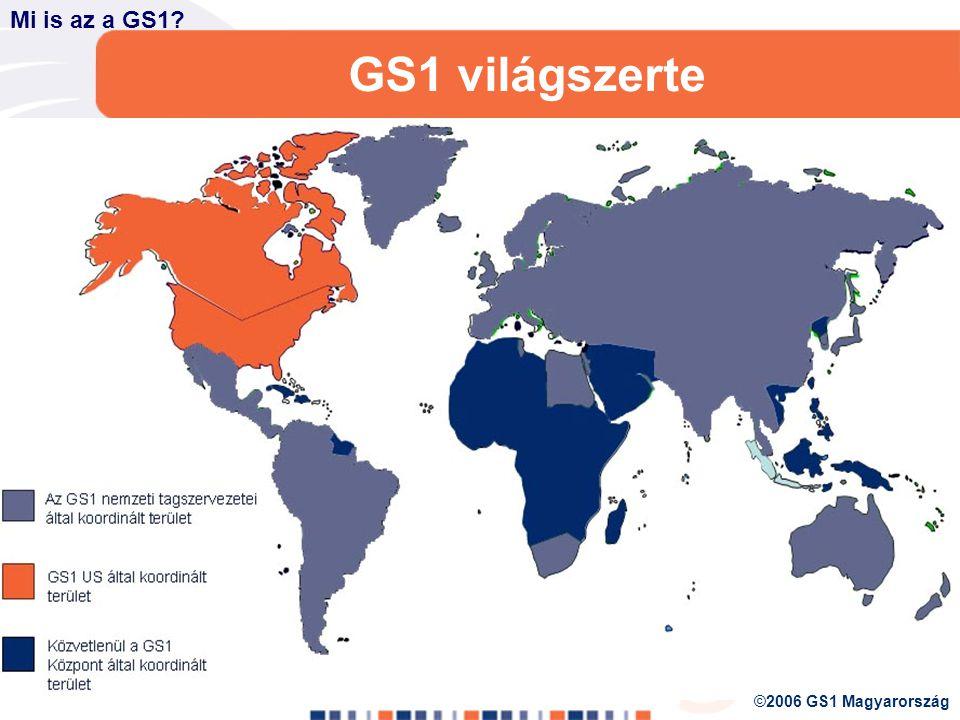 1984 2003 2005 GS1 MAGYARORSZÁG 2006 január 1-től 1973 1977 Az EAN világméretű megoldásrendszerré nőtt, új neve: GS1 Mi is az a GS1.