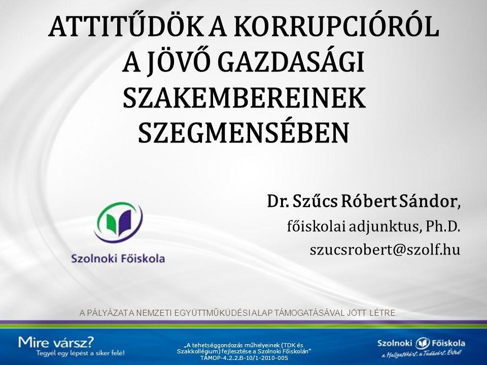"""A körülmények ismertek… A Világbank definíciója szerint """"a korrupció nem más, mint hivatali pozícióval történő visszaélés személyes haszonszerzés céljából """" (HALPERN et al., 2008)"""""""
