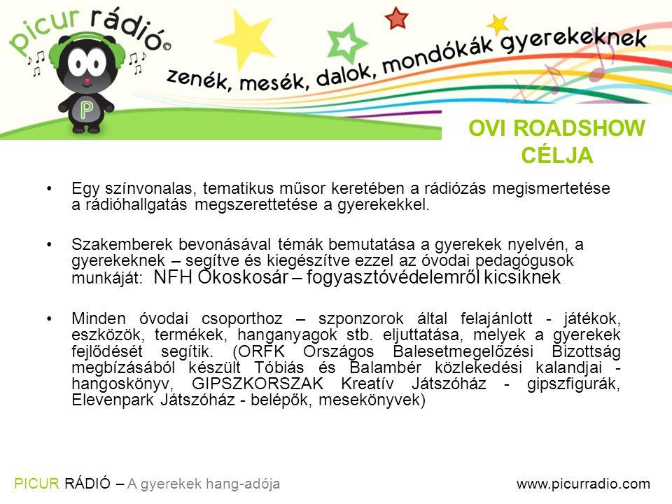 Egy színvonalas, tematikus műsor keretében a rádiózás megismertetése a rádióhallgatás megszerettetése a gyerekekkel.