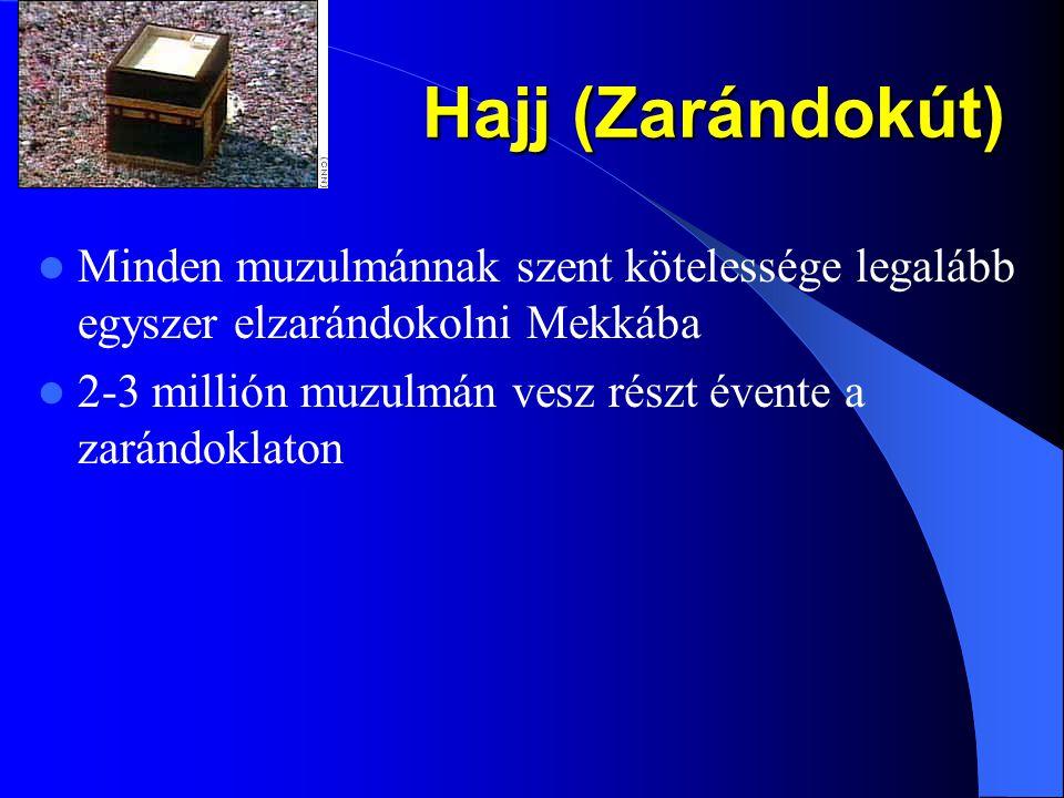 """Böjt (Ramadan) 2.183 """"Ti hívők! Előíratott nektek a böjtölés, amiként előíratott azoknak, akik előttetek éltek. Talán istenfélők lesztek"""". A Ramadan a"""