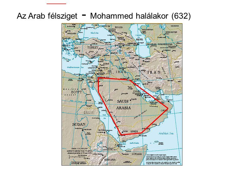 """570Mohammed születése (Mekkában) 610 Az első látomása (27 Ramadan) 622 """"Hijra"""" Mohammed és a követői az üldözések elől Medinába menekülnek  Az iszlám"""