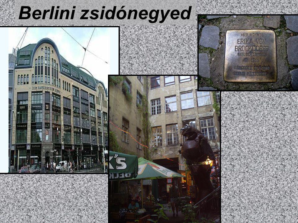 Berlini zsidónegyed