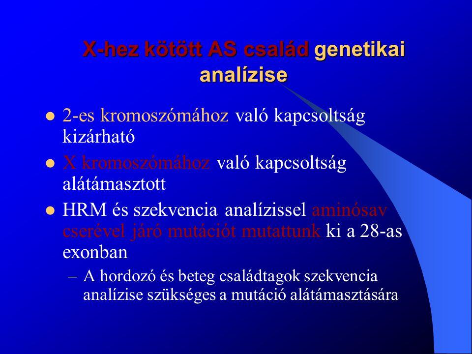Összefoglalás A pontos, alapos beteg- és családvizsgálat elengedhetetlen VBMN és AS esetén (klinikai tünetek, szövettan, családfa, a jövőben molekuláris).
