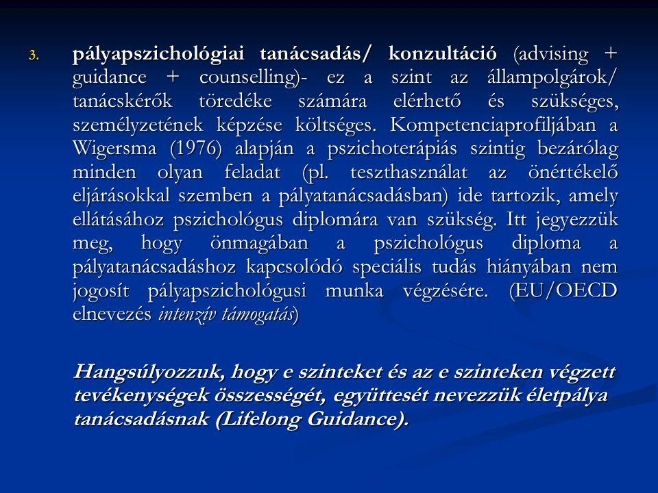 A finn munkaügyi szervezet több illetékességi és kompetencia rendjére épülő tanácsadási szolgáltatási modellje