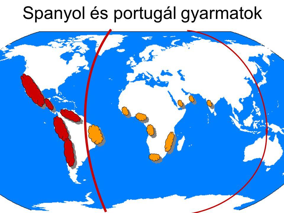 Spanyol és portugál gyarmatok
