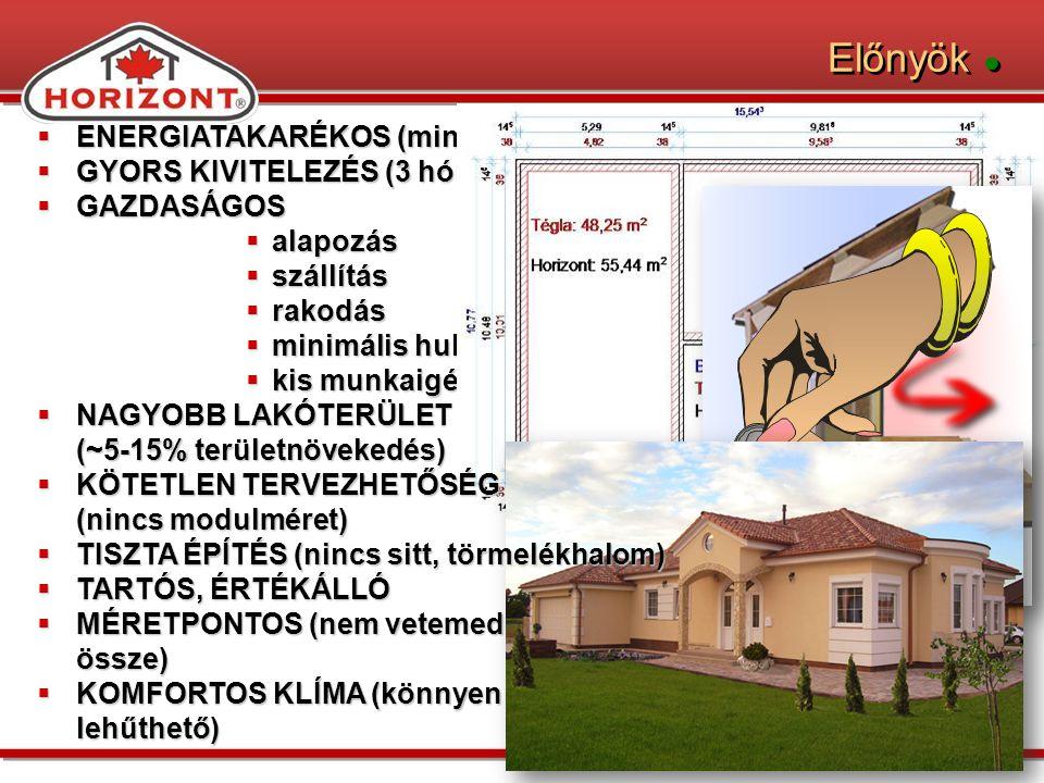 Családi házak ●