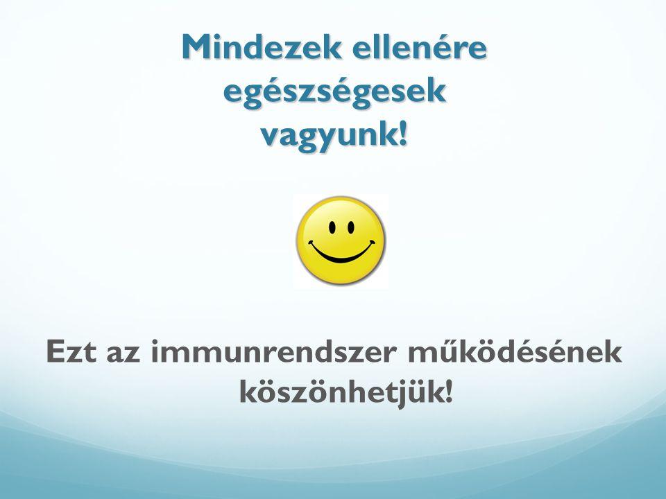 Védettség Mesterséges védettség Aktív immunizálás: 1.Antigén bejuttatása a szervezetbe (fertőzés élő mikróbával) 2.Védőoltás: - élő legyengített kórokozóval - elölt kórokozó bejuttatása - a kórokozók immunválaszt kiváltó fehérjéinek a bejuttatása - kombinált védőoltás.