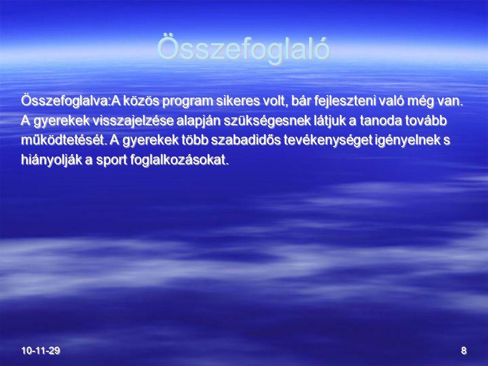 10-11-299 Javaslatok A CKÖ.