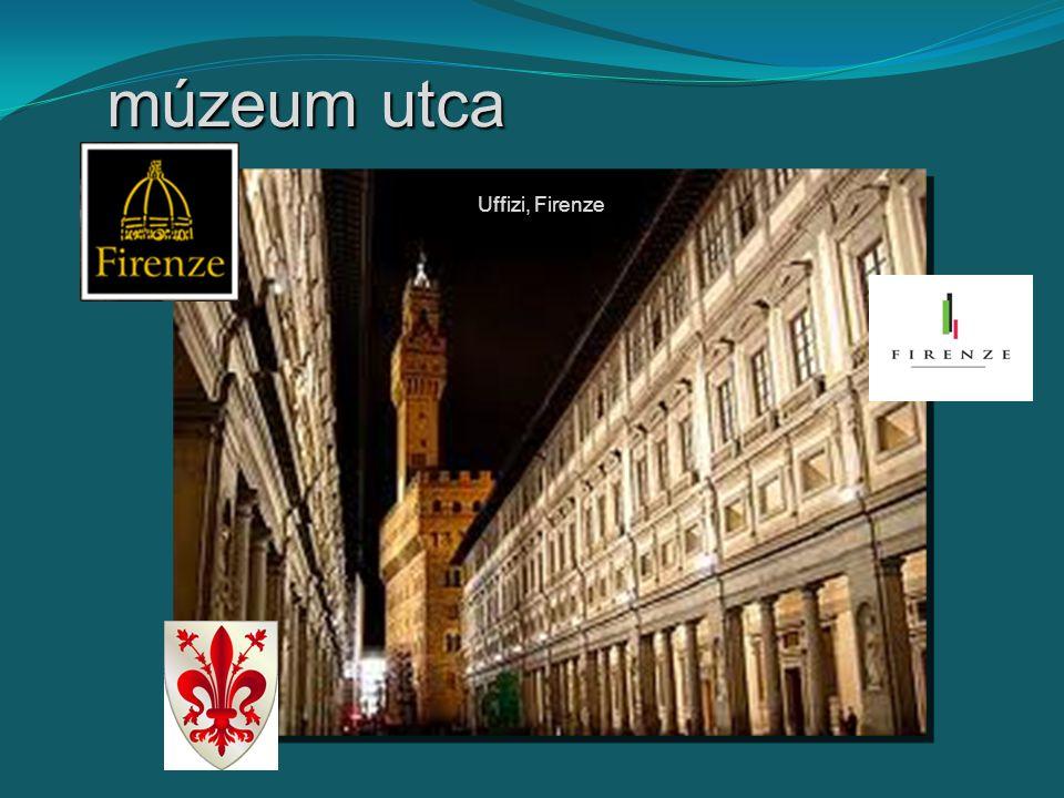 múzeum utca Uffizi, Firenze
