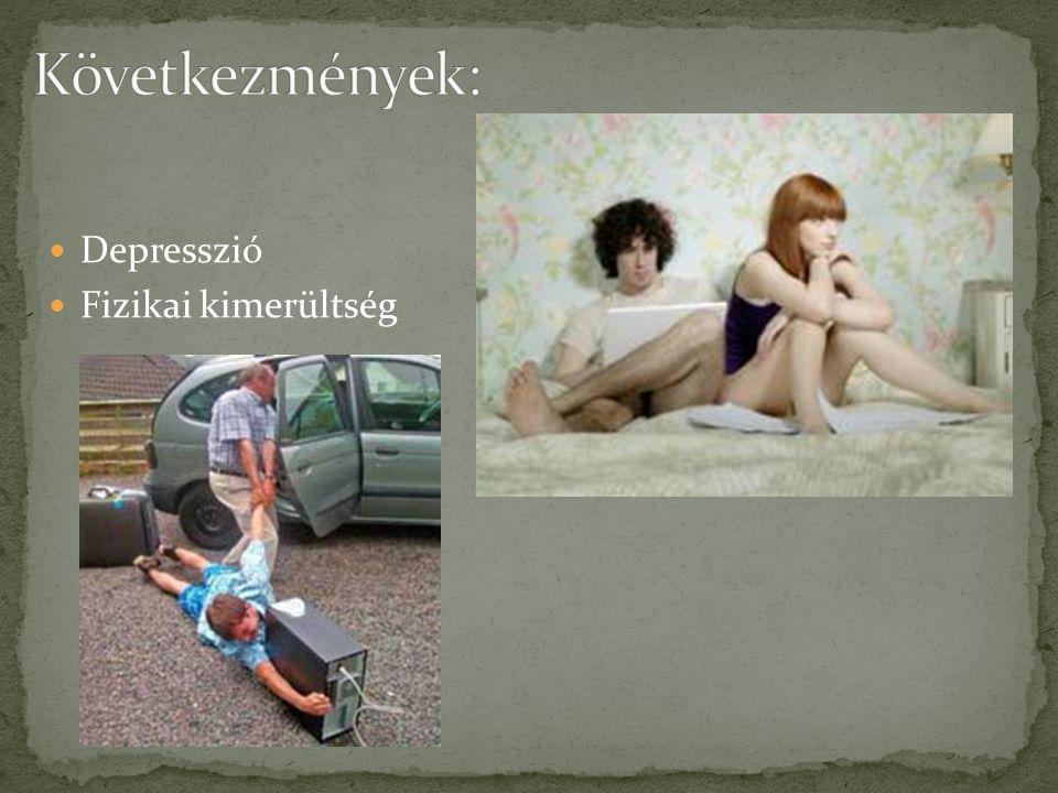 Depresszió Fizikai kimerültség