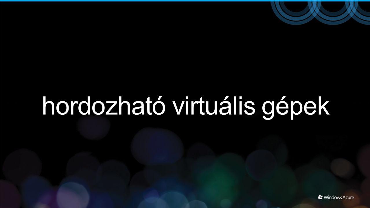 hordozható virtuális gépek
