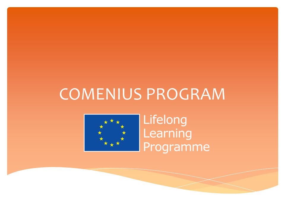 COMENIUS PROGRAM