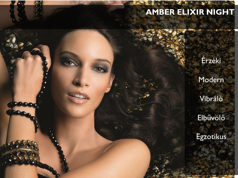 AMBER ELIXIR NIGHT Érzéki Modern Vibráló Elbűvölő Egzotikus