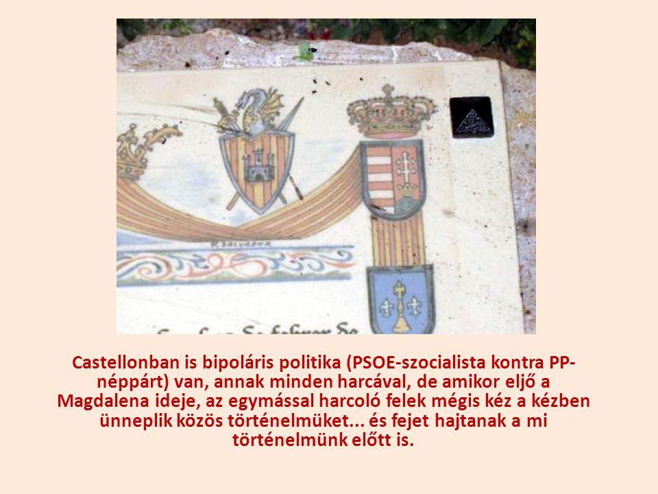 Az ünnepségnek két fénypontja: Jakab király szobrának megkoszorúzása, illetve hitvese szobrának megkoszorúzása.