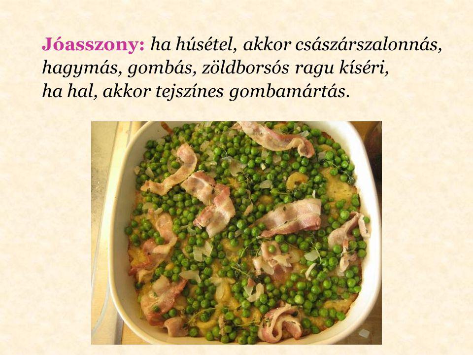 Pompadour: bélszínszeletnél pépesített gombával és tojásos burgonyapürével befedve, angolosan megsütve, barna mártással leöntve.