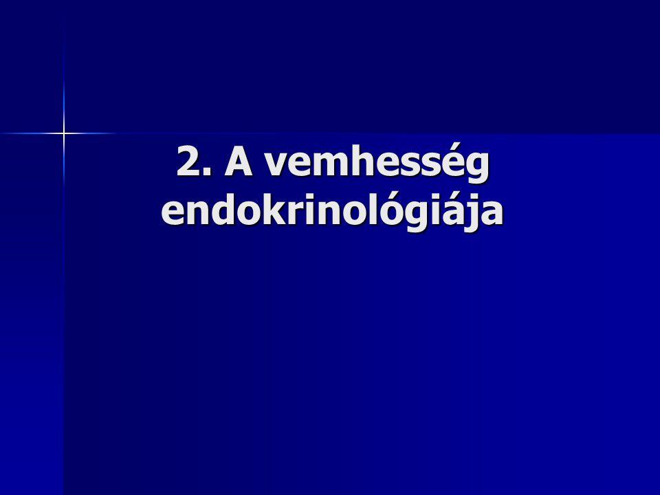 2. A vemhesség endokrinológiája